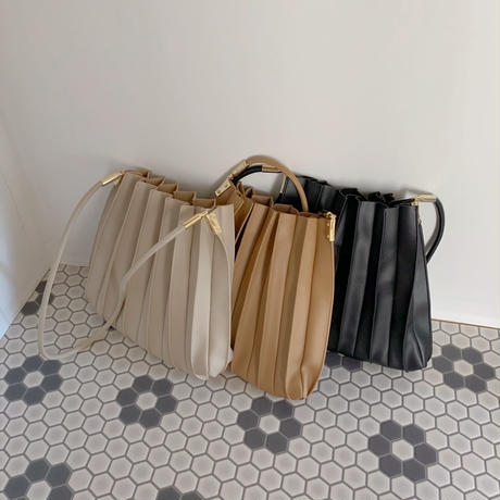 【再入荷】pleats bag   CL011