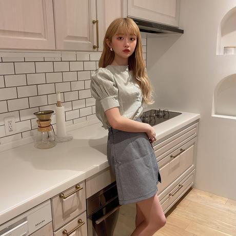 【再入荷】Oreo check skirt CL027