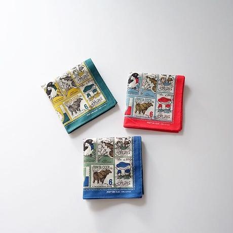 ハンカチ world stamp  (marble SUD)