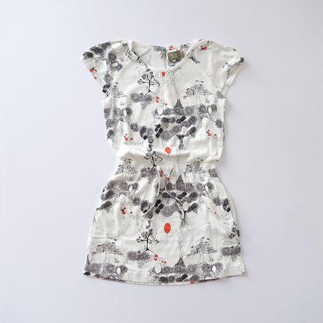 Cat dress (kids case) 104~128cm