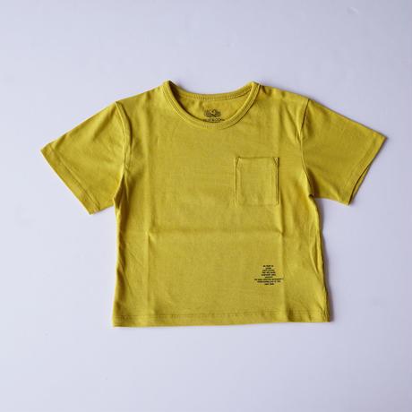 ポケット BIG Tee MUSTARD (SMOOTHY) 95~155cm