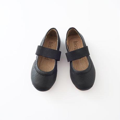 ストラップシューズ BLACK(bisgaard) 12.5~15cm