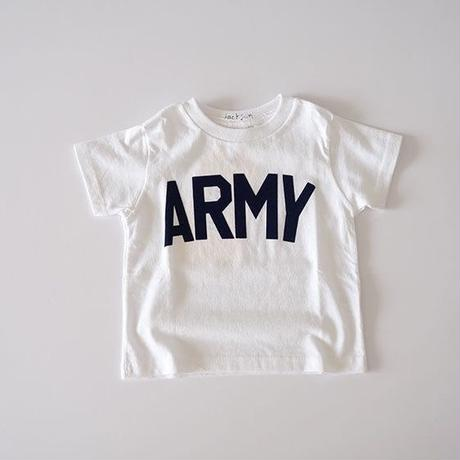 ARMY Tee WHITE (ジャクソンマティス)100~120cm