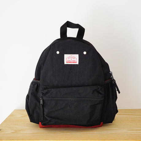 DAY PACK  CRAZY BLACK (OCEAN&GROUND) Mサイズ