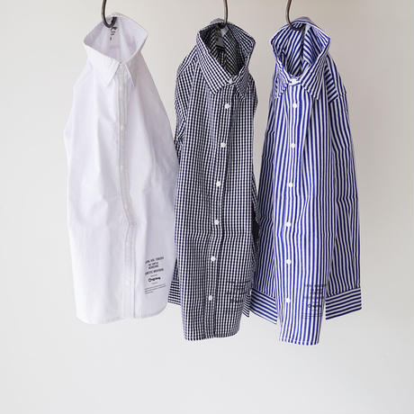 culture shirt CHECK NAVY (highking) 110~130cm