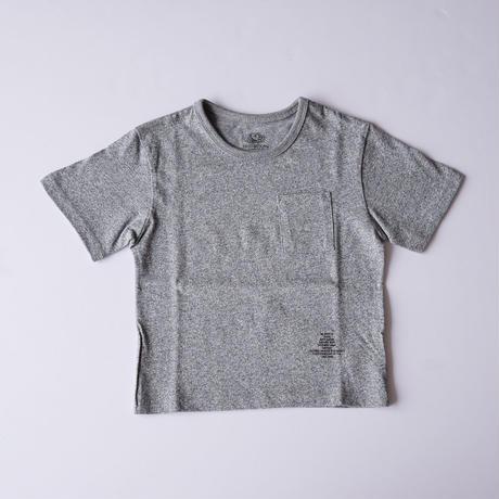 ポケット BIG Tee GRAY (SMOOTHY) 95~155cm