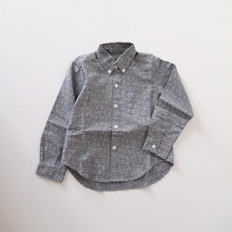 アニマルプリントシャツ シマウマ (MAKIE)