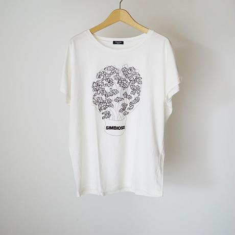 SIMBIOSIS BIG Tシャツ  (marble SUD) Fサイズ
