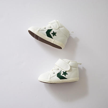 BABY CHUKKA  WHITE×GREEN (CONVERSE) 13cm