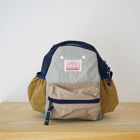 DAY PACK  CRAZY L.GRAY (OCEAN&GROUND) Sサイズ