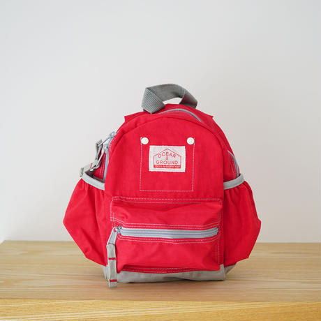 DAY PACK  CRAZY RED (OCEAN&GROUND) Sサイズ