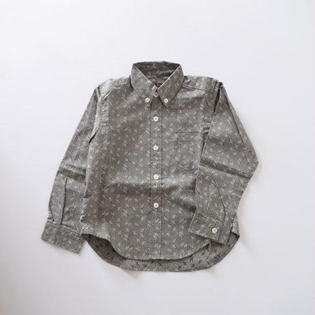 アニマルプリントシャツ キリン (MAKIE)
