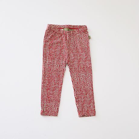 Hazel legging RED  (kids case) 80、92cm