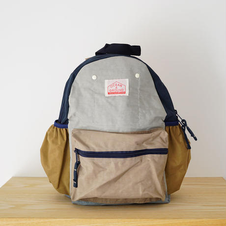 DAY PACK  CRAZY L.GRAY (OCEAN&GROUND) Mサイズ