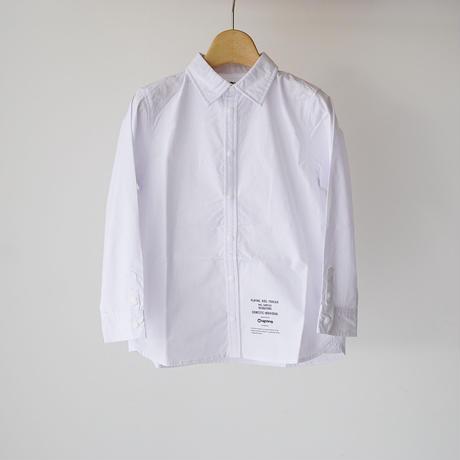 culture shirt WHITE (highking) 150~160cm
