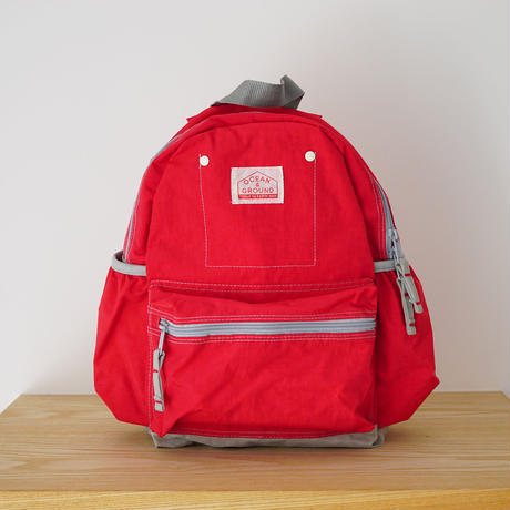 DAY PACK  CRAZY RED (OCEAN&GROUND) Mサイズ