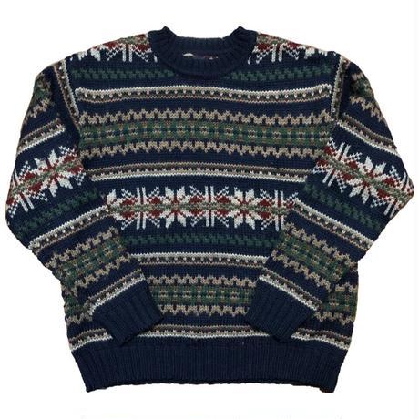 90s GAP pattern knit