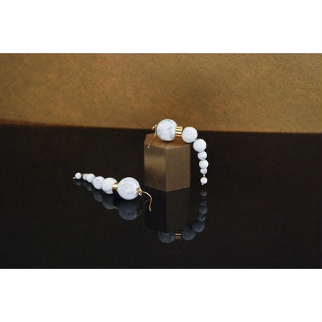 NEW OLYMPIA Earrings - HOWLITE