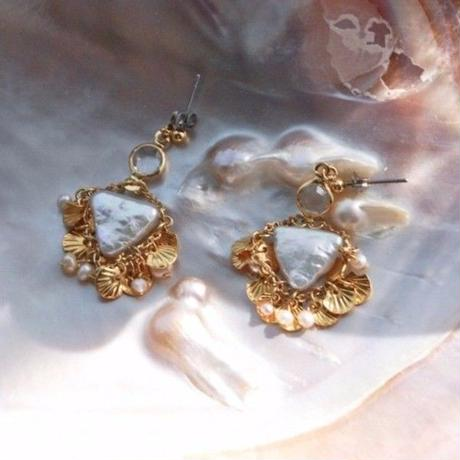 """SHELL COLLECTOR""  EARRINGS"