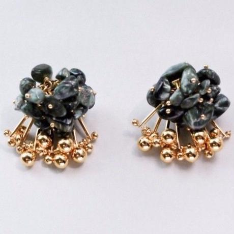 Aria Earrings - SERAPHINITE