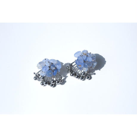 Aria Earrings - CHALCEDONY