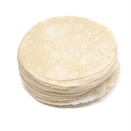 【ケース直送】【代引不可】冷凍5インチホワイトコーントルティーヤ ケース販売 24枚入×12
