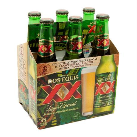 ドスエキスビール ラガー 6本パック 355ml×6 4.0%