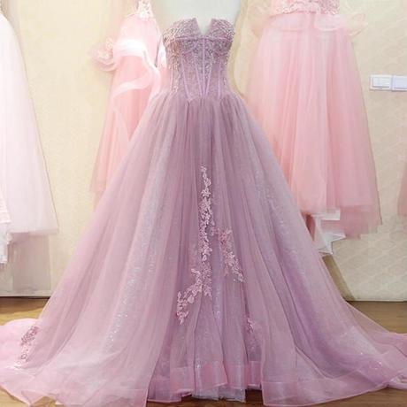 ウエスト部分豪華のカラーウェディングドレス、  ドレスワンピース結婚式、発表会、演奏会、パ―ティ    トレーン