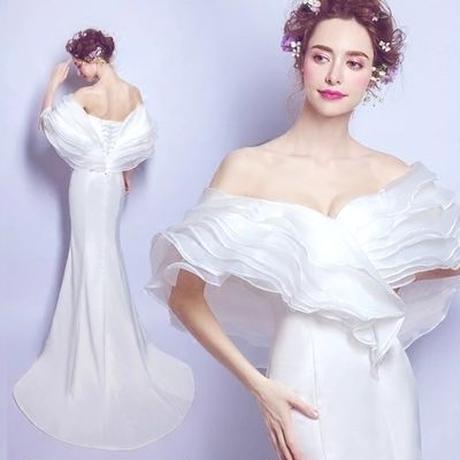 cfa0f88fd7618 高級ウェディングドレス カラードレス 二次会ドレス 花嫁 お呼ばれドレス 結婚式 二次会 ドレス ...
