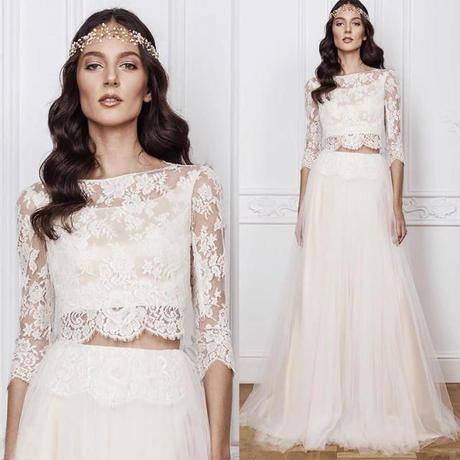 魅力の透明感ある、ピースウェディングドレス    ドレスワンピース結婚式、発表会、演奏会、パ―ティ