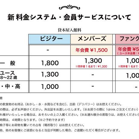 シネコヤ・ファンクラブ&ファンディング(寄付込みプラン)