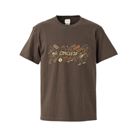 CIRCLE'20 T-Shirts 【チャコール】