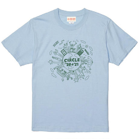 CIRCLE'20→'21 T-Shirts  【ライトブルー】