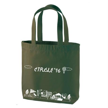 CIRCLE'16 オフィシャル トートバッグ モスグリーン (内ポケット付き)