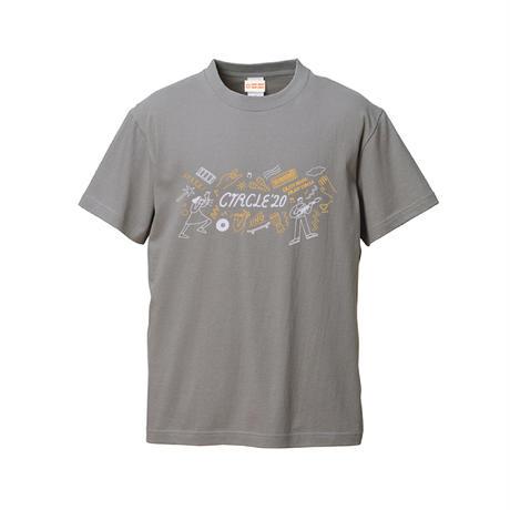 CIRCLE'20 T-Shirts 【ストーングレー】