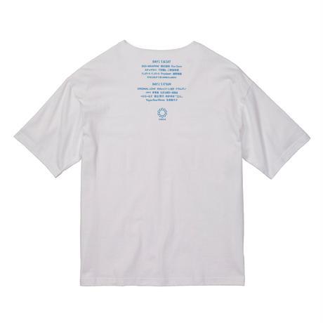 CIRCLE'20 T-Shirts (ビッグシルエットポケット付)   【ホワイト】