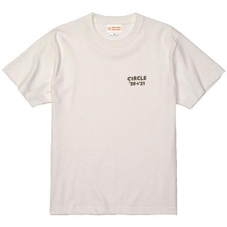 CIRCLE'20→'21 T-Shirts  【バニラホワイト】