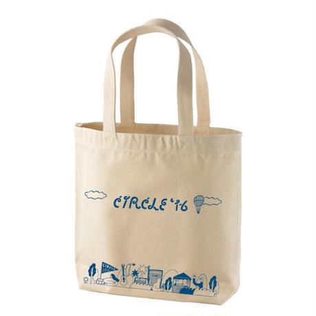 CIRCLE'16 オフィシャル トートバッグ ナチュラル (内ポケット付き)