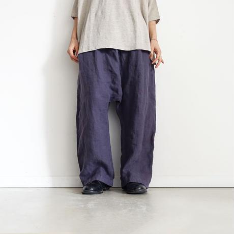 19-0051  Linen  Sarrouel Pants / LAVENDER