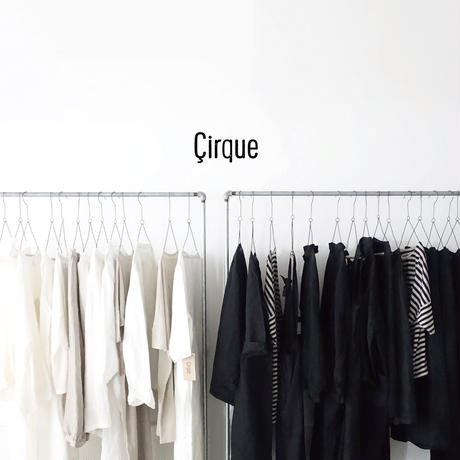 19-0050  Linen Atelier Coat / BLACK