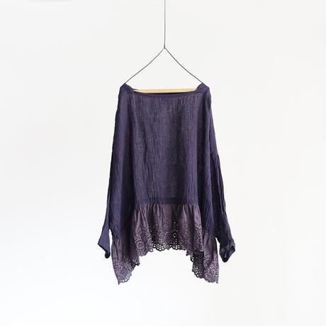 19-0045 Linen Lace Pullover / LAVENDER