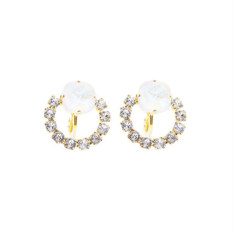 Crystal Ring Earring