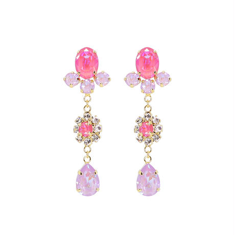 Mini Drop Bijoux Earrings                                           (CANDY & ICY COLOR)