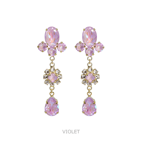 Mini Drop Bijoux Earrings (CANDY COLOR)