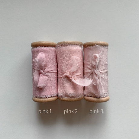 silk ribbon 50mm pink系