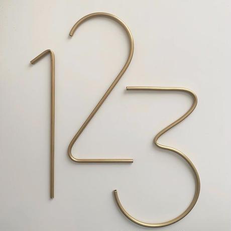 真鍮number