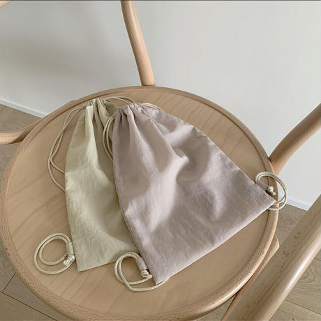 neutral color bag(撥水お着替え袋/肩掛けタイプ)