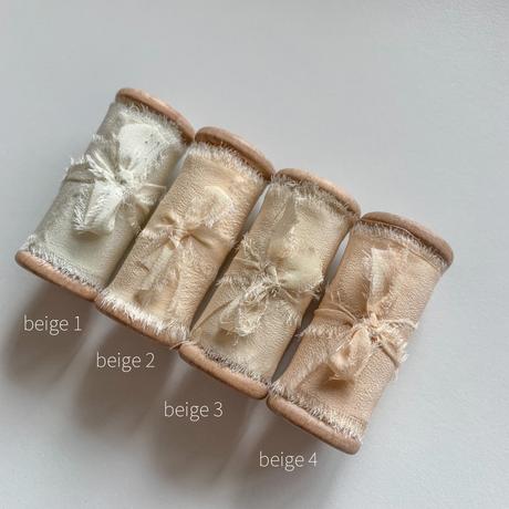 silk ribbon 50mm beige系