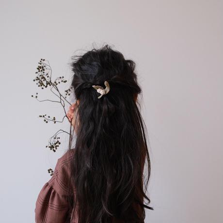mistletoe hair tie