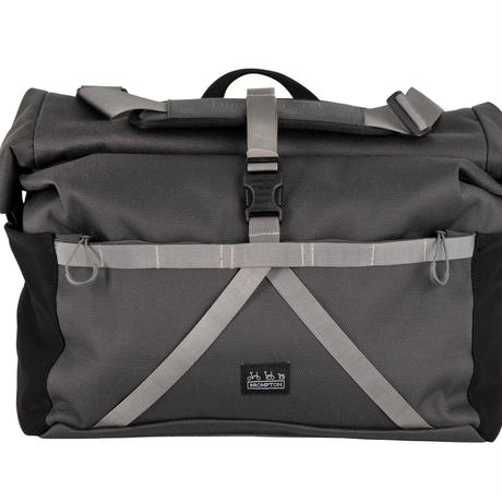 BROMPTON Borough Roll Top Bag Large in Dark Grey(Roll Top Bag 28L Dark Grey)
